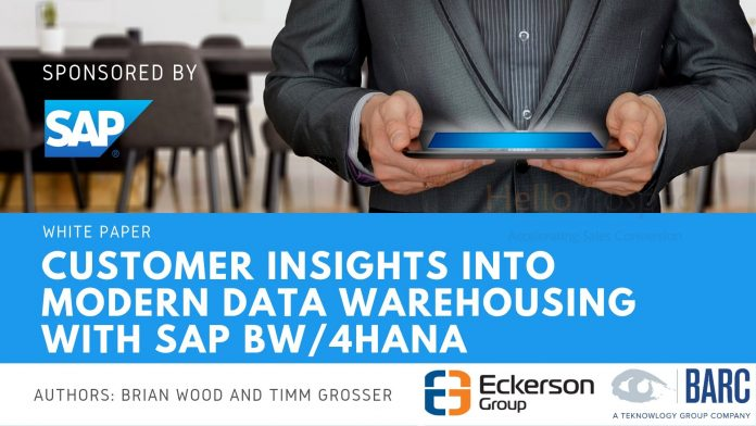 TechProspect-Customer_Insights_into_Modern_Data_Warehousing_with_SAP