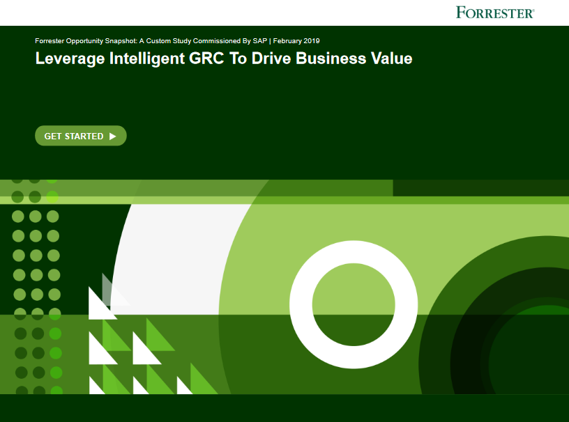 TechProspect-Forrester_Opportunity_Snapshot__Leverage_Intelligent_GRC_to_Drive_Business_Value