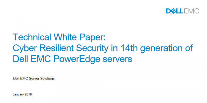 TechProspect-Cyber_Resilient_Security_in_14th_generation_of_Dell_EMC_PowerEdge_servers
