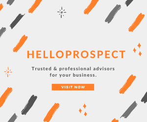 Advertisement of HelloProspect