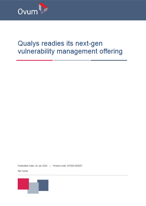 Qualys readies its next-gen vulnerability management offering -TechProspect Qualys readies its next-gen vulnerability management offering -TechProspect