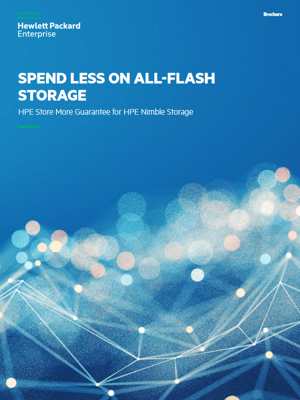 Spend Less On All-Flash Storage -TechProspect Spend Less On All-Flash Storage -TechProspect