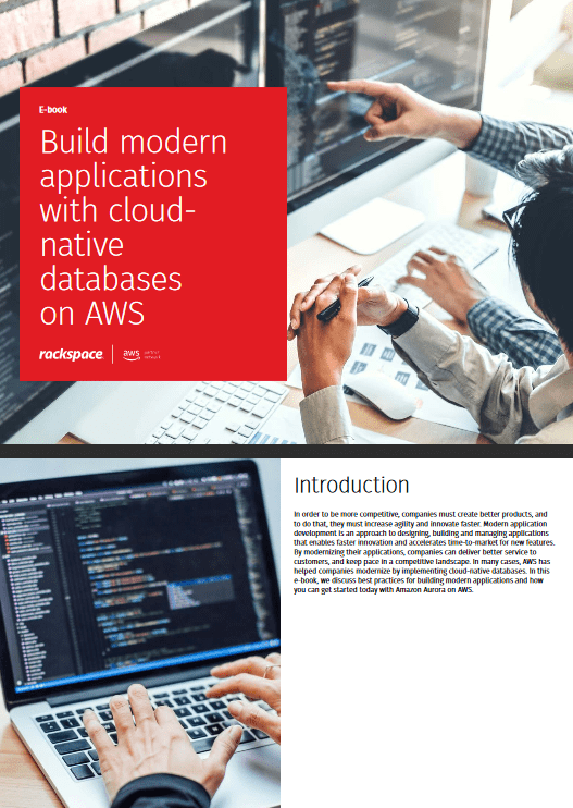 Build modern applications with cloud native databases on AWS -TechProspect Build modern applications with cloud native databases on AWS -TechProspect
