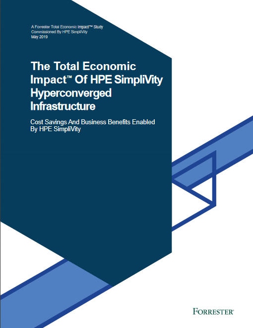 The Total Economic Impact of HPE SimpliVity Hyperconverged Infrastructure -TechProspect The Total Economic Impact of HPE SimpliVity Hyperconverged Infrastructure -TechProspect