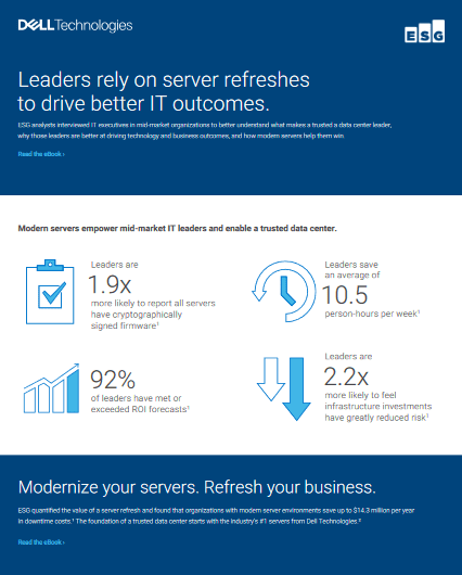 Leaders Rely On Server Refreshes to Drive Better IT Outcomes -TechProspect Leaders Rely On Server Refreshes to Drive Better IT Outcomes -TechProspect
