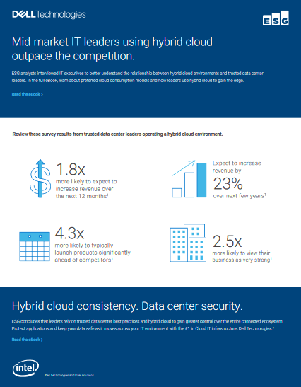 Mid-Market IT Leaders Using Hybrid Cloud Outpace the Competition -TechProspect Mid-Market IT Leaders Using Hybrid Cloud Outpace the Competition -TechProspect