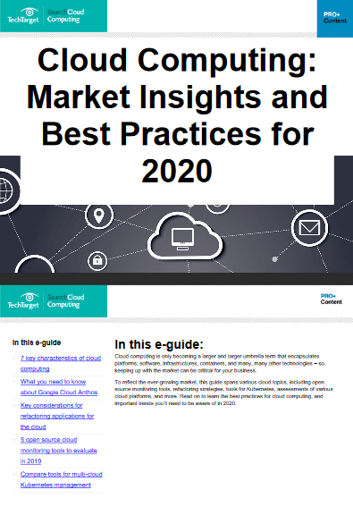 Cloud Computing: Market Insights and Best Practices for 2020 -TechProspect Cloud Computing: Market Insights and Best Practices for 2020 -TechProspect