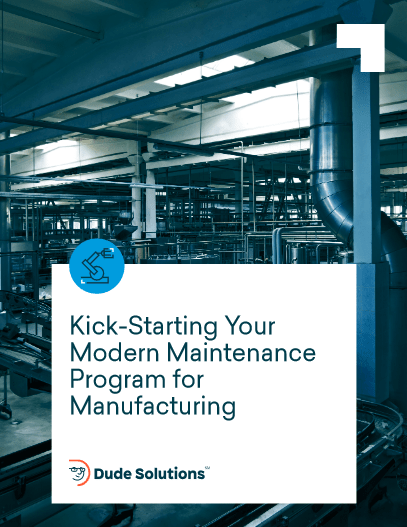 Kick-Starting Your Modern Maintenance Program for Manufacturing -TechProspect Kick-Starting Your Modern Maintenance Program for Manufacturing -TechProspect