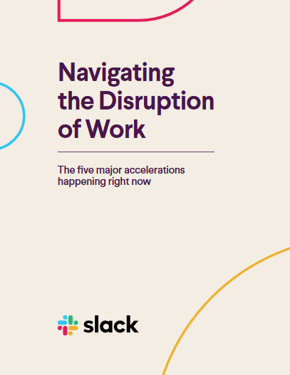 Navigating the Disruption of Work -TechProspect Navigating the Disruption of Work -TechProspect