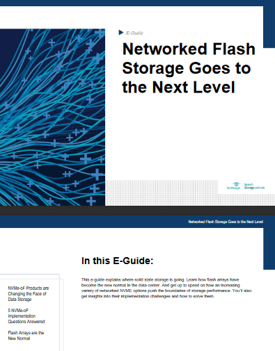 Networked Flash Storage Goes to the Next Level -TechProspect Networked Flash Storage Goes to the Next Level -TechProspect