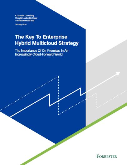 The Key To Enterprise Hybrid Multicloud Strategy -TechProspect The Key To Enterprise Hybrid Multicloud Strategy -TechProspect