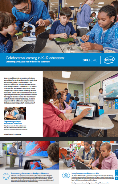 Collaborative Learning in K-12 Education: Unleashing Productive Interaction in the Classroom -TechProspect Collaborative Learning in K-12 Education: Unleashing Productive Interaction in the Classroom -TechProspect