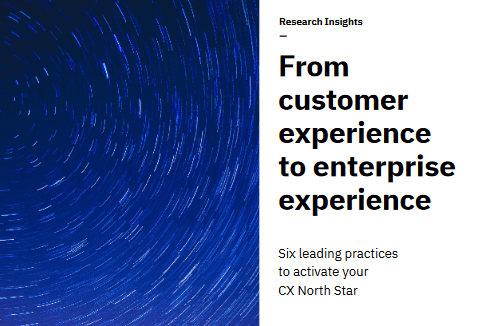 From Customer Experience To Enterprise Experience: 6 Leading Steps To Activate Your CX North Star -TechProspect From Customer Experience To Enterprise Experience: 6 Leading Steps To Activate Your CX North Star -TechProspect