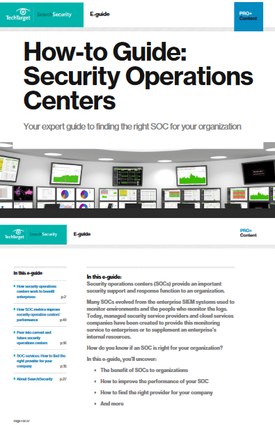 How to Guide Security Operation Centers -TechProspect How to Guide Security Operation Centers -TechProspect
