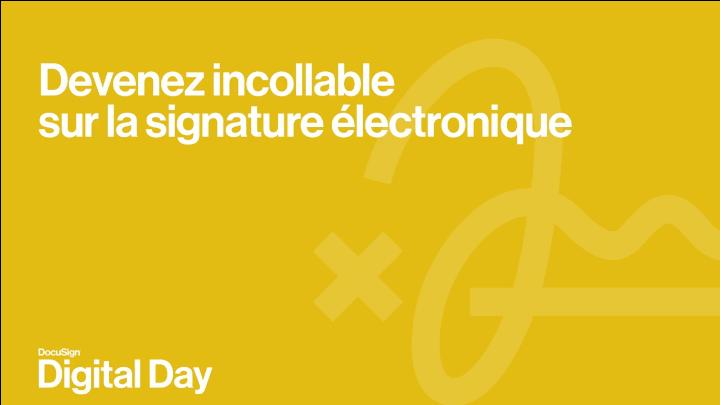 Devenez incollable sur la signature électronique -TechProspect Devenez incollable sur la signature électronique -TechProspect