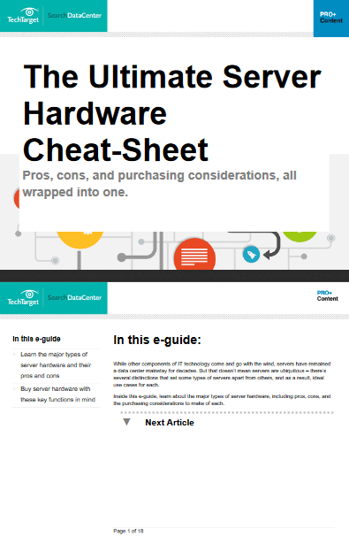 The Ultimate Server Hardware Cheat Sheet -TechProspect The Ultimate Server Hardware Cheat Sheet -TechProspect