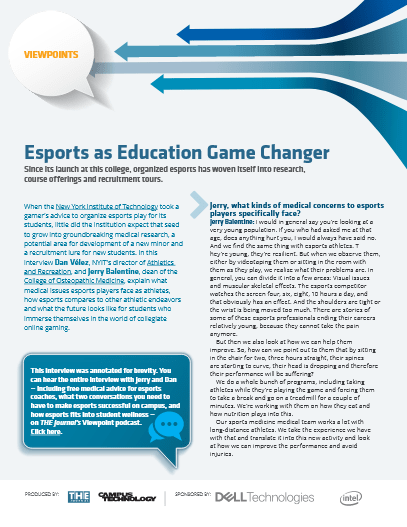eSports as Education Game Changer -TechProspect eSports as Education Game Changer -TechProspect