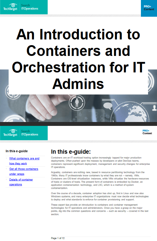 An Introduction to Containers and Orchestration for IT Admins -TechProspect An Introduction to Containers and Orchestration for IT Admins -TechProspect