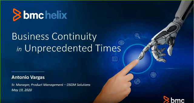 Business Continuity in Unprecedented Times -TechProspect Business Continuity in Unprecedented Times -TechProspect
