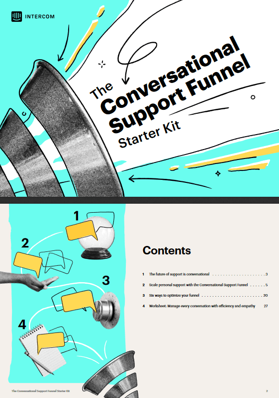 Intercom Conversational Support Starter Kit -TechProspect Intercom Conversational Support Starter Kit -TechProspect