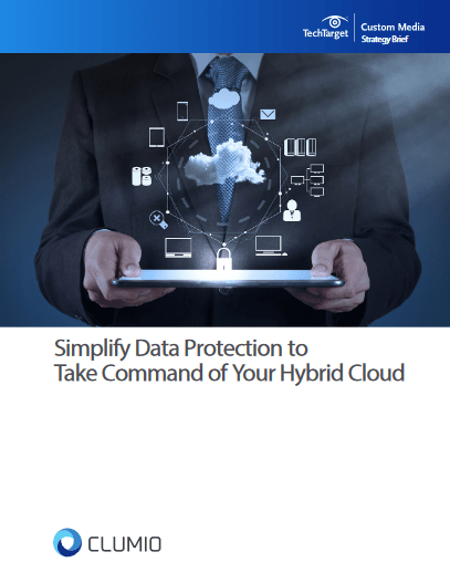 Simplify Data Protection to Take Command of Your Hybrid Cloud -TechProspect Simplify Data Protection to Take Command of Your Hybrid Cloud -TechProspect