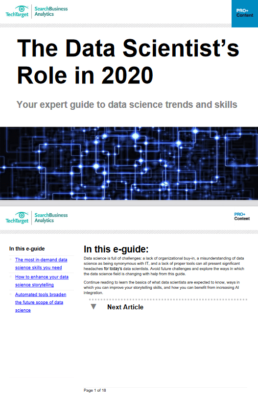 The Data Scientists Role in 2020 -TechProspect The Data Scientists Role in 2020 -TechProspect
