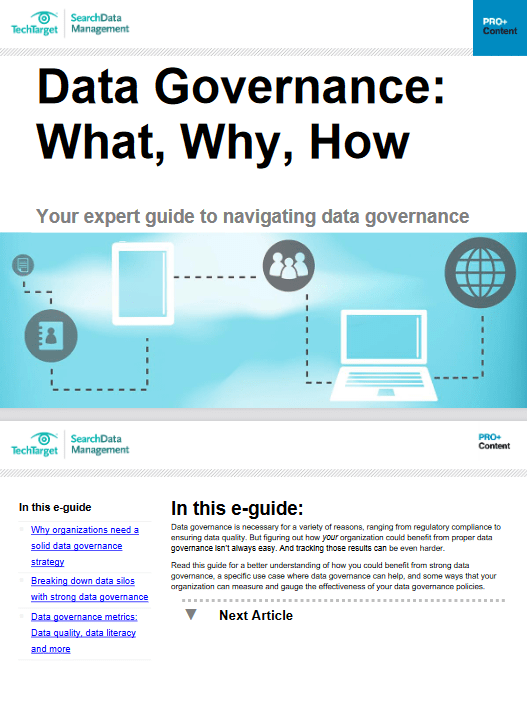 Data Governance: What, Why, How -TechProspect Data Governance: What, Why, How -TechProspect