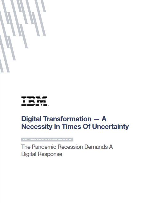 Digital Transformation – A Necessity in Times of Uncertainty -TechProspect Digital Transformation – A Necessity in Times of Uncertainty -TechProspect