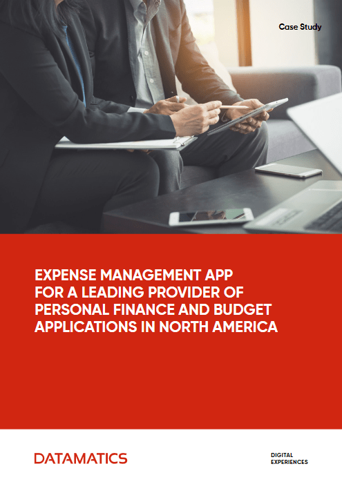 Expense Management App For A Leading Provider Of Personal Finance And Budget Applications In North America -TechProspect Expense Management App For A Leading Provider Of Personal Finance And Budget Applications In North America -TechProspect