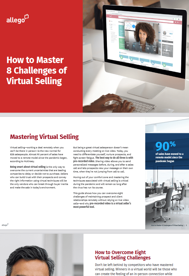 How to Master 8 Challenges of Virtual Selling -TechProspect How to Master 8 Challenges of Virtual Selling -TechProspect