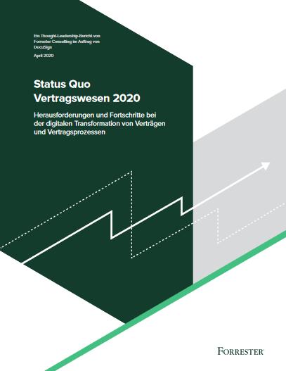 Status Quo  Vertragswesen 2020 -TechProspect Status Quo  Vertragswesen 2020 -TechProspect