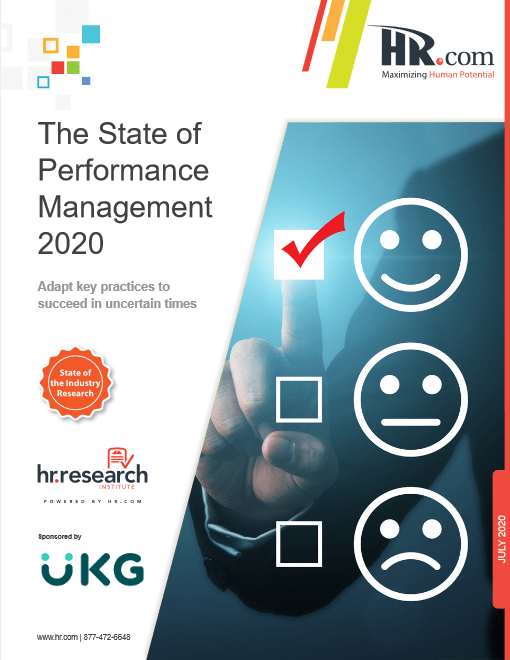 The State of Performance Management 2020 -TechProspect The State of Performance Management 2020 -TechProspect