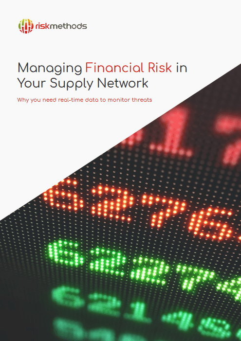 Managing Financial Risk in Your Supply Network -TechProspect Managing Financial Risk in Your Supply Network -TechProspect