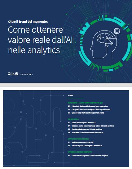 Oltre il trend del momento – Come ottenere valore reale dall'AI nelle analytics -TechProspect Oltre il trend del momento – Come ottenere valore reale dall'AI nelle analytics -TechProspect