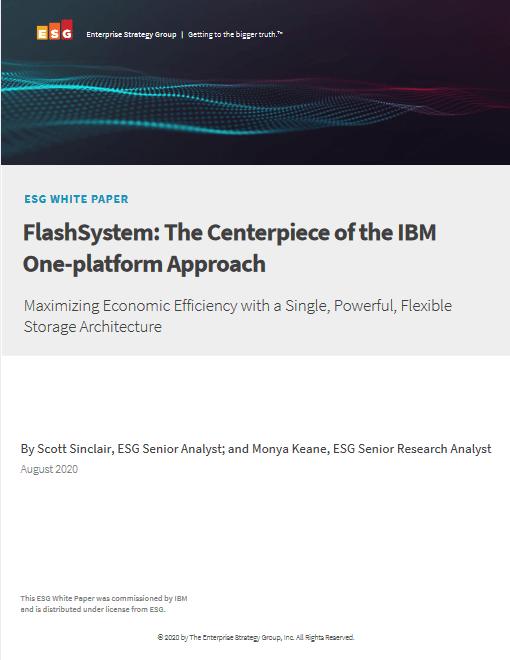 FlashSystem – The Centerpiece of the IBM One-platform Approach -TechProspect FlashSystem – The Centerpiece of the IBM One-platform Approach -TechProspect