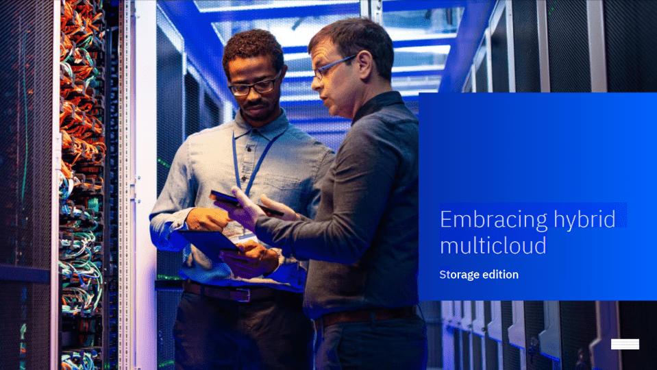 Interactive eBook: Embracing Hybrid Multicloud Storage -TechProspect Interactive eBook: Embracing Hybrid Multicloud Storage -TechProspect
