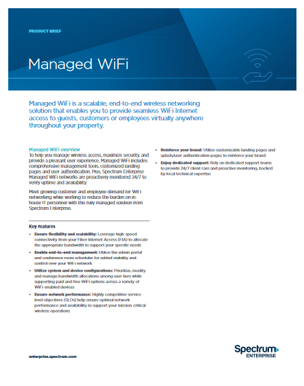 Managed Wifi -TechProspect Managed Wifi -TechProspect