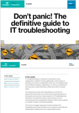 Don't panic The definitive guide to IT troubleshooting -TechProspect Don't panic The definitive guide to IT troubleshooting -TechProspect