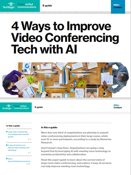 4 Ways to Improve Video Conferencing Tech with AI -TechProspect 4 Ways to Improve Video Conferencing Tech with AI -TechProspect