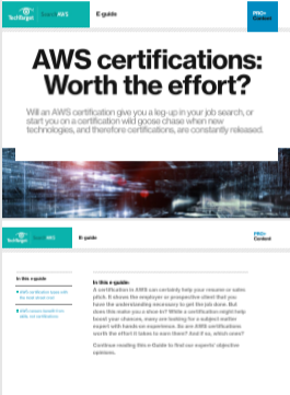 AWS certifications Worth the effort -TechProspect AWS certifications Worth the effort -TechProspect