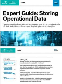 Expert Guide: Storing Operational Data -TechProspect Expert Guide: Storing Operational Data -TechProspect