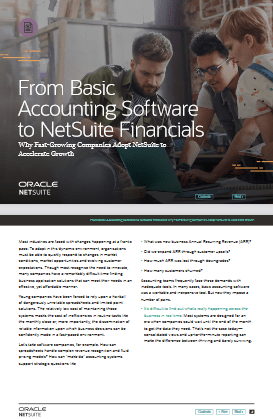 From Basic Accounting Software to NetSuite Financials -TechProspect From Basic Accounting Software to NetSuite Financials -TechProspect