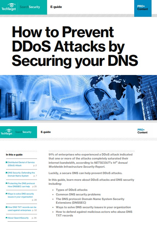 How to Prevent DDoS Attacks by Securing your DNS -TechProspect How to Prevent DDoS Attacks by Securing your DNS -TechProspect