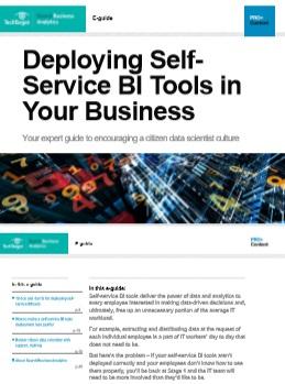 Deploying Self Service BI Tools in Your Business -TechProspect Deploying Self Service BI Tools in Your Business -TechProspect