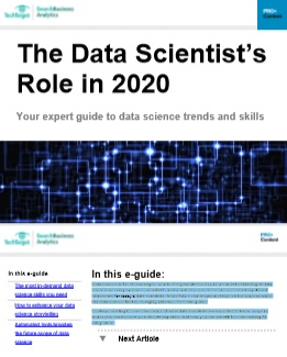 The Data Scientist's  Role in 2020 -TechProspect The Data Scientist's  Role in 2020 -TechProspect