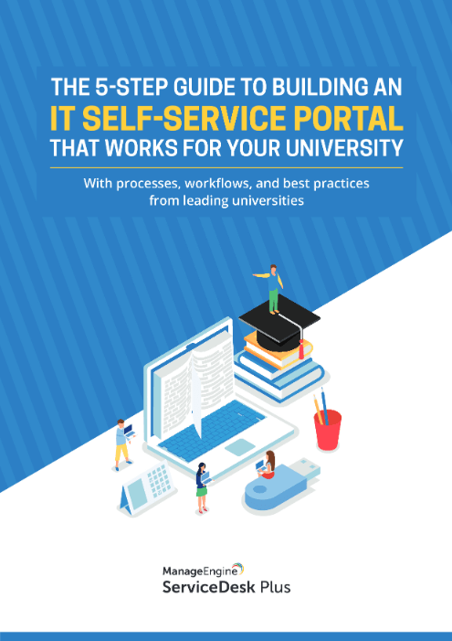 The Five Step Guide To Building An It Self-service Portal That Works For Your University -TechProspect The Five Step Guide To Building An It Self-service Portal That Works For Your University -TechProspect
