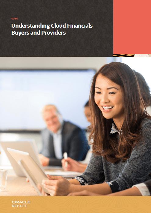 Understanding Cloud Financials Buyers and Providers -TechProspect Understanding Cloud Financials Buyers and Providers -TechProspect