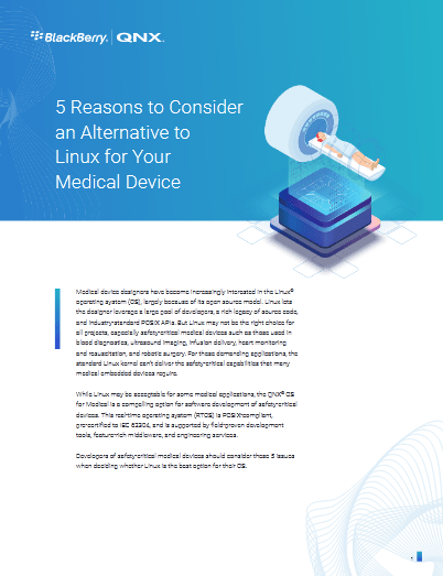 5 Reasons to Consideran Alternative to Linux for Your Medical Device -TechProspect 5 Reasons to Consideran Alternative to Linux for Your Medical Device -TechProspect
