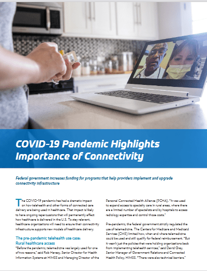 COVID-19 Pandemic Highlights Importance of Connectivity -TechProspect COVID-19 Pandemic Highlights Importance of Connectivity -TechProspect