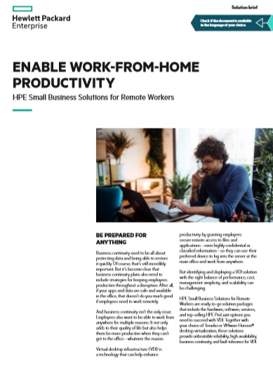 Enable Work-from-home Productivity -TechProspect Enable Work-from-home Productivity -TechProspect